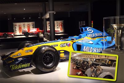 Fernando Alonso's Museum – And A Rolls Royce Collection!
