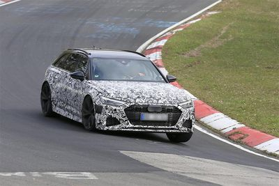New Audi RS6 Avant Seen Testing At Nürburgring
