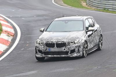 The New Front-Wheel-Drive BMW 1-Series Spotted Testing