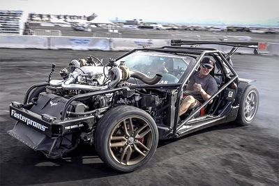 Twin Turbo 427ci Corvette Kart By Cleetus McFarland