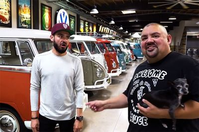 The Epic Garage Of Comedian Gabriel 'Fluffy' Iglesias