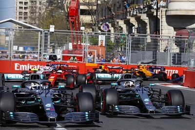 Bottas Goes Top After Winning Azerbaijan Formula 1 Grand Prix