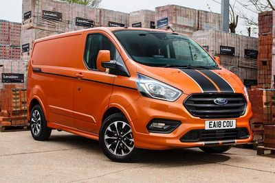 The New Ford Transit Custom Sport Diesel Van Gets 182bhp