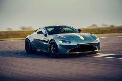 Aston Martin Vantage AMR Gets A Manual Transmission