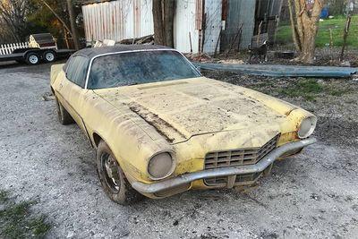 Will It Run? A 1972 Chevrolet Camaro Barn Find
