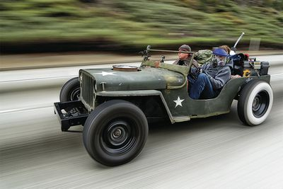 Taking A Death-Wish Trip In A Rat-Rod Jeep