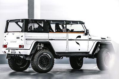 Check Out This 850hp 'Safari' Mercedes G-Wagon