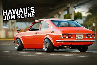 Hawaii Has An Old-School JDM Car Scene