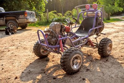 Upgrading A Barbie Jeep With Custom Four-Link Suspension