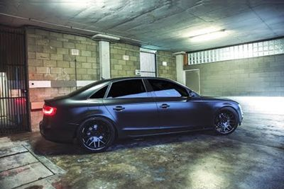 Video: Check Two Audi's Get Murdered Out In This Awesome Wrapping Video!