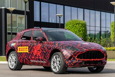 Aston Martin Reveals Their Pre-Production DBX SUV