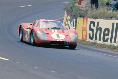 The Legend Of The 1967 Ford GT40 Mark IV