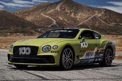 A Bentley Continental GT Now Holds Pikes Peak Record