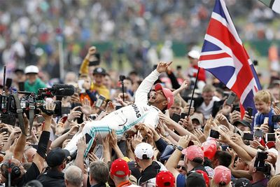 Hamilton Wins Silverstone F1 After Verstappen-Vettel Collision