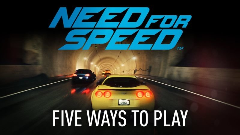 Video: New Need For Speed Trailer, Showing 5 Ways To Play! 1