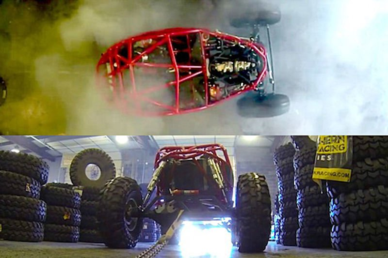 Video: Chain Up Your 700hp Dune Buggy And Do A Sick Burnout! Sounds Like A Plan! 1