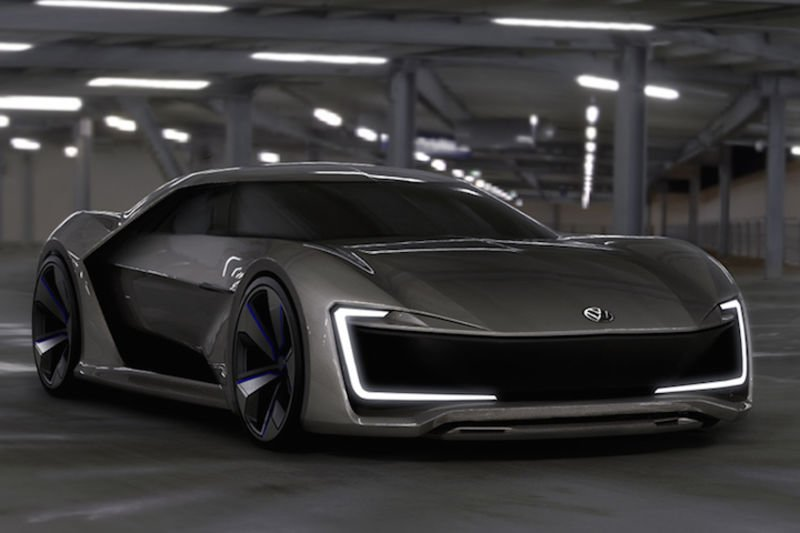 Stunning Volkswagen Sports Car Concept Shows Us The Future! 1