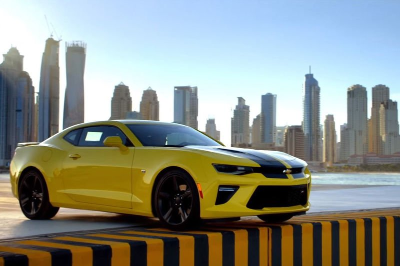 Video: Chevrolet Camaro Ss Goes From 0-100mph-0 In Spectacular Fashion! 1
