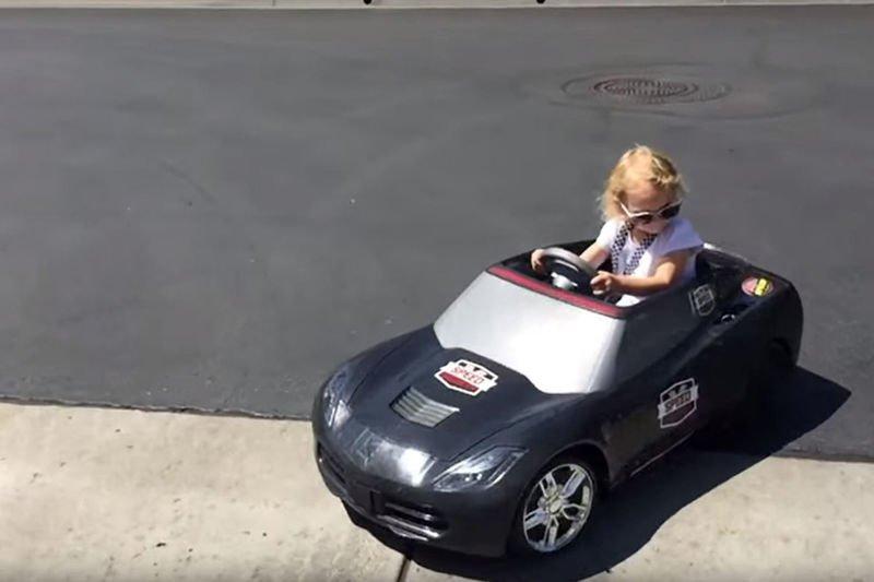 Video: 4 Year Old Drifting Sensation Lila Kalis Makes Her Tv Debut! 1