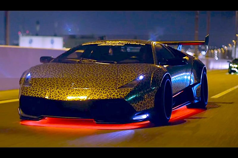 Video Japan S Bosozoku Style Takes Lamborghinis To A Mad New Level