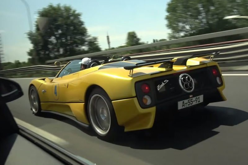 Video: The Pagani C12s Is So Loud Its Actually Scary! 1