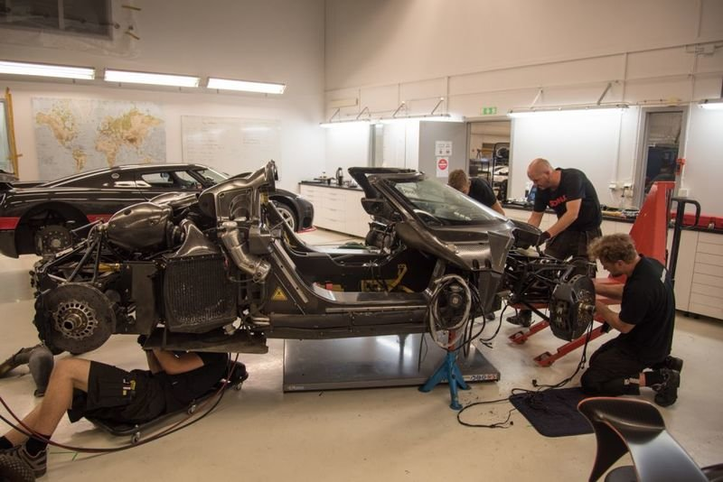 A Malfunctioning Abs Sensor Caused The Koenigsegg One:1