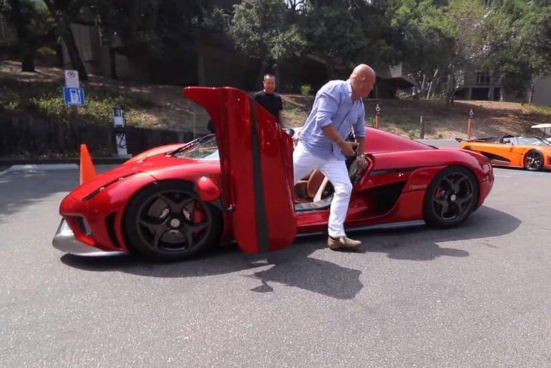 Video: Christian Von Koenigsegg In His New Koenigsegg Regera 1