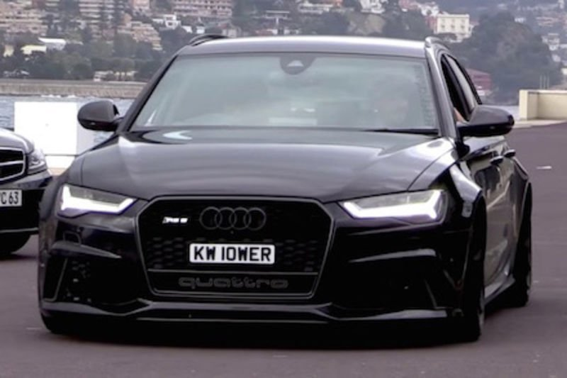 Video Watch This Slammed Audi Rs6 Cruising The Streets Of Monaco