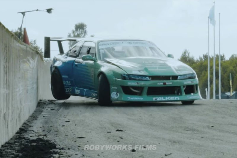 Video: When It Comes To Drift Hype, Smokey Camera Angles, Balls To The Wall Action, And High Revving Engines Without Music, Robyworks Films Never Leaves Us Disappointed! 1