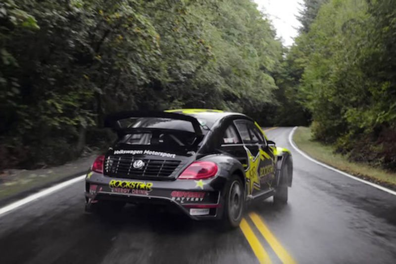 Video: Tanner Foust Takes Us Along For A Forest Speed Run In His Rally Spec Vw Beetle! 1