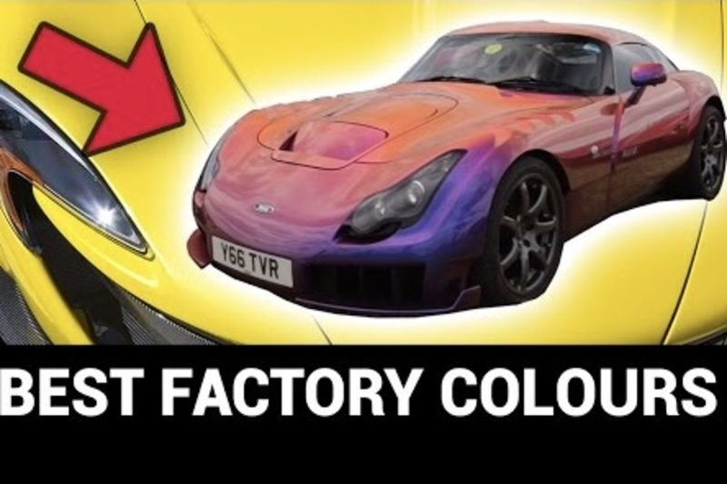 Video: Best Factory Colours Ever Made For Your Car! 1