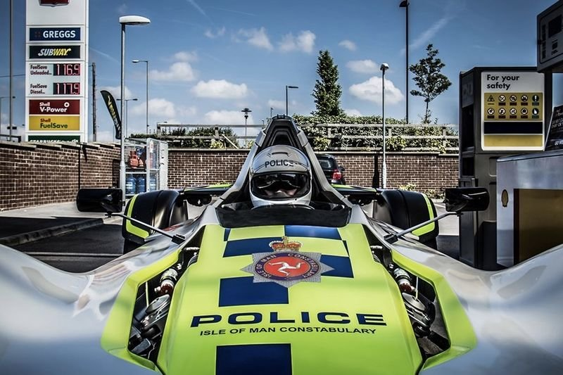 The Bac Mono Police Car Unveiled 1
