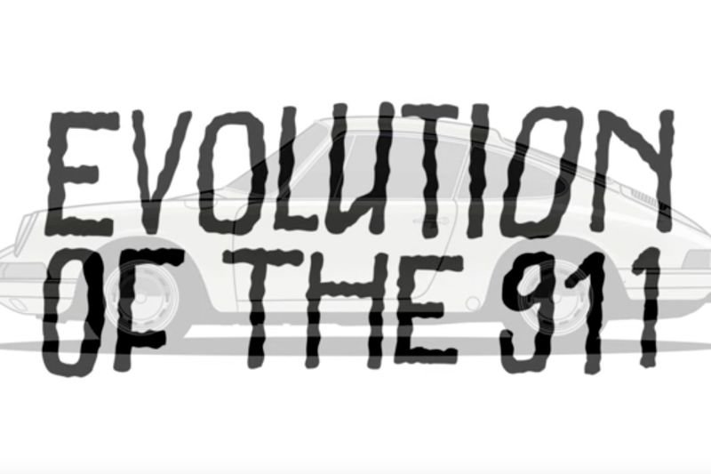 Video: The Evolution Of The Porsche 911 1