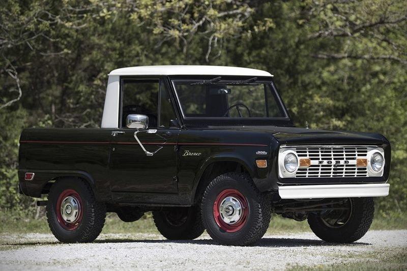 The Ford Bronco U14 Half Cab Pick-up Truck Is A True Vintage-gem! 1
