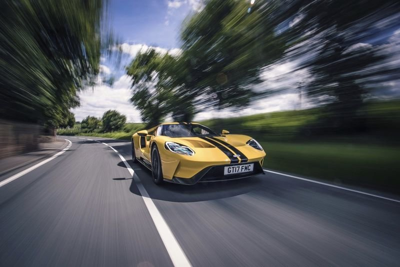 The Latest Ford Gt Generates 100gb Of Data Every Hour! 1