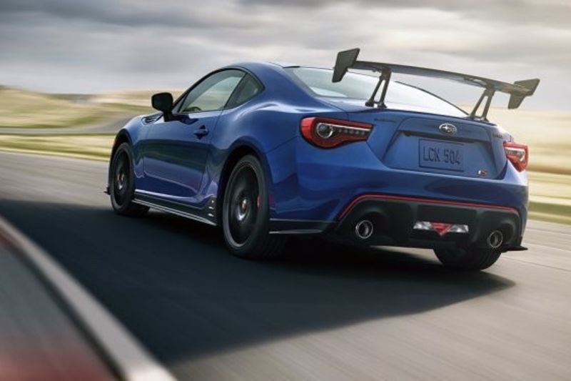 Subaru Shows Off The Wrx Sti Type Ra And Brz Ts 1