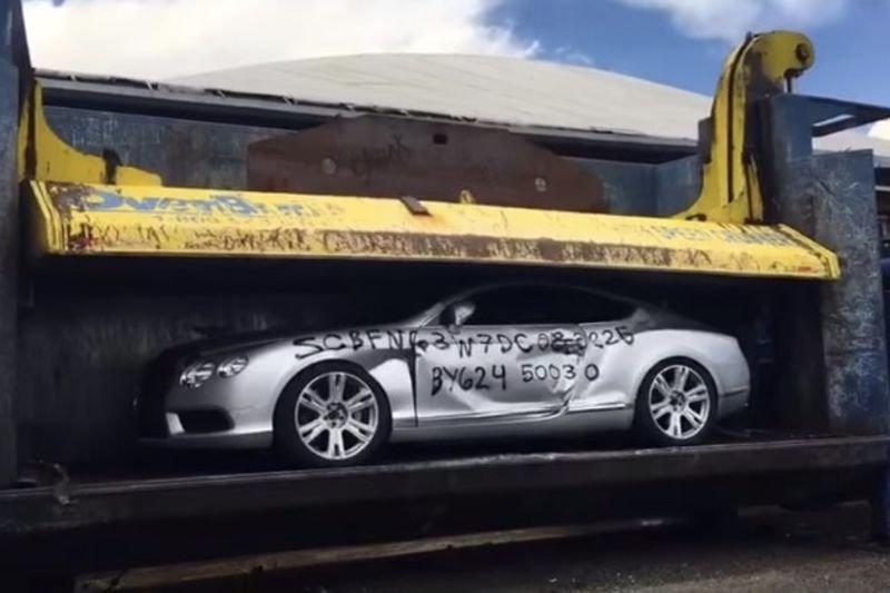 Video: Crushing A Bentley Gt... 1