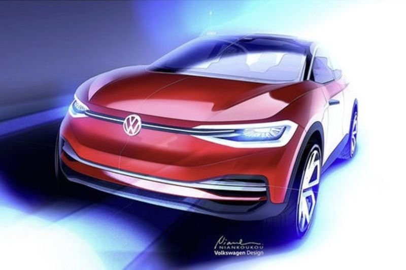 Video: The Updated Vw I.d Crozz Concept Driverless Electric Car Heading To Frankfurt! 1