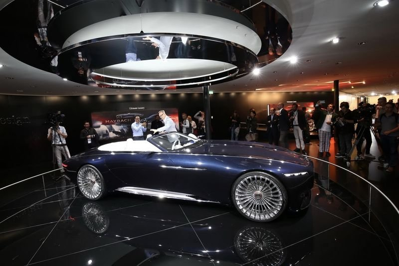 Mercedes-maybach Shows-off At The Frankfurt Motor Show 1