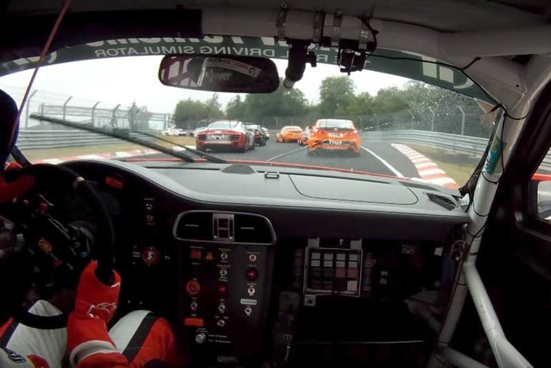 Video: Sabine Schmitz Cleans Up At Nurburgring 1