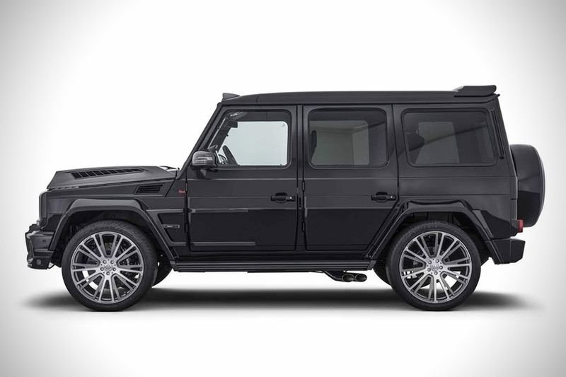 Introducing The Mercedes Amg G65 Brabus 900! 1