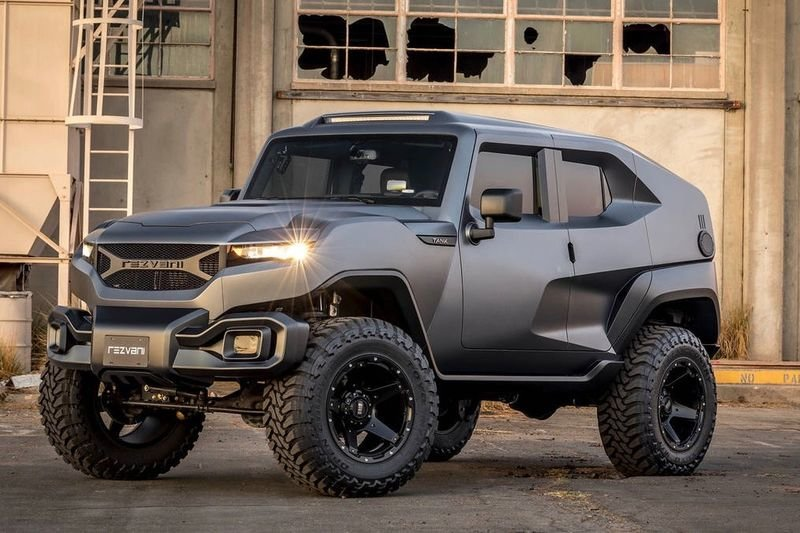 The Rezvani Tank Is The Perfect Post-apocolytic Luxe-mobile! 1