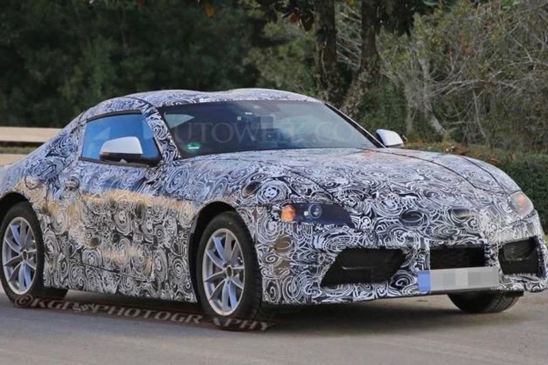 Spotted: Could This Be The Next Toyota Supra? 1