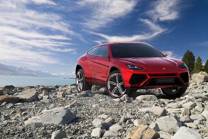 Spotted: The New Lamborghini Urus – 600bhp + Suv Testing In Nottingham 1