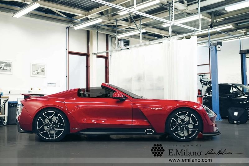 Want To See The New Tvr Griffith Spyder? 1