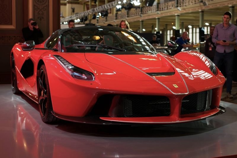 Introducing The Rosso Corsa Laferrari Aperta 1