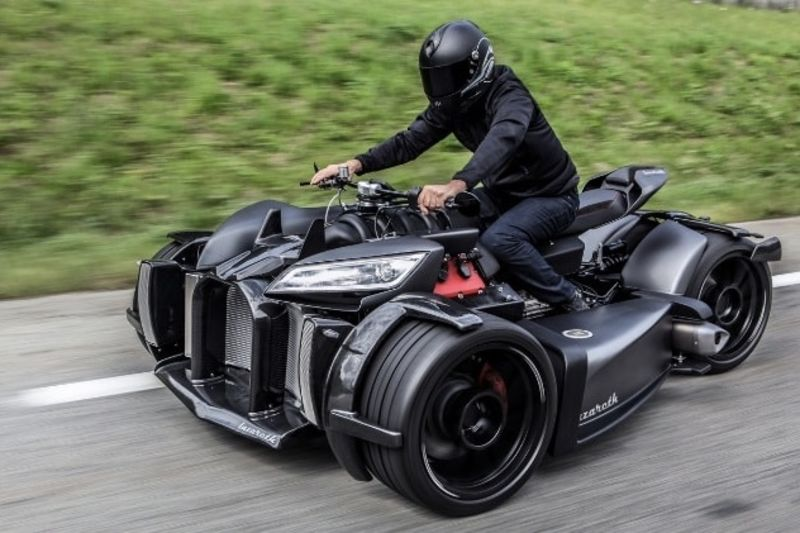 Video: A Lazareth V8 Powered Trike! 1