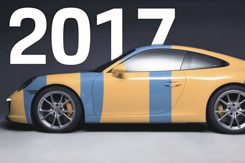 Video: The More The Porsche 911 Changes, The More It Stay The Same 1