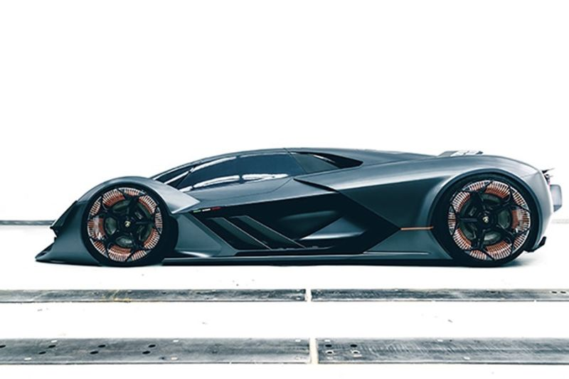 Video: Lamborghini And Mit Collaborate On An Electric Sports Car 1