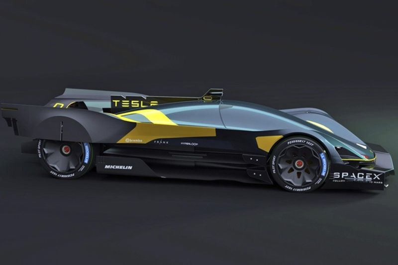 Video Here Is What The Tesla Le Mans Car Concept Could Look Like 1